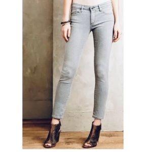 AG The Stevie Ankle Slim Straight Leg skinny jeans